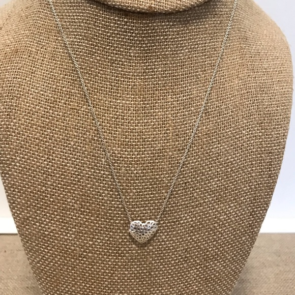Chloe + Isabel Jewelry - Open Heart Sterling Silver necklace